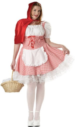 Miss Little Red Riding Hood - XX-Large - Dress Size 16-18 (Little Miss Riding Hood)