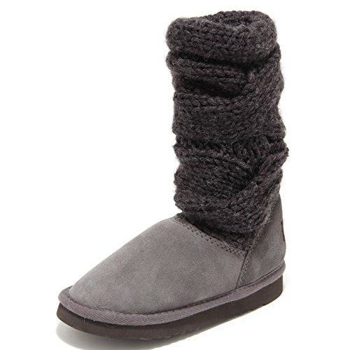 Boots Bandeau Unisex Kids Shoes Scarpe Bimba Stivali Grigio 4207M Mou xXZqF7t