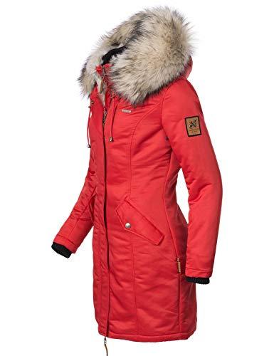 Rojo Navahoo Mujer Navahoo Abrigo Abrigo Para fxBXw8Pq