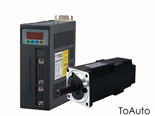 AC Servo Motor Driver Control CNC Kit 400W NEMA24 3000R/Min 1.26NM Industrial Motion Controller Kit