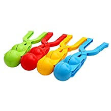 Plastic Snowball Clip Snowball Maker Scoop Clip Thickened Clip Pliers Snow Toys for Outdoor (Random)