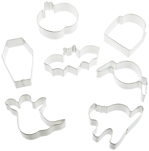 Wilton Coffin 7 Piece Cookie Cutter Set -