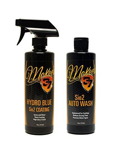 McKee's 37 MK37-630690 Hydro Blue/Sio2 Auto Wash, 32 fl. oz, 1 Pack McKee' s 37