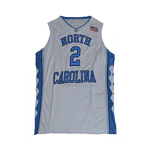 - Mens North Carolina Berry II 2 College Tar Heels Basketball Jersey White (Large)