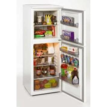 Amazon.com: 7.5 CF Two Door Apartment Size Refrigerator: Mid Size ...
