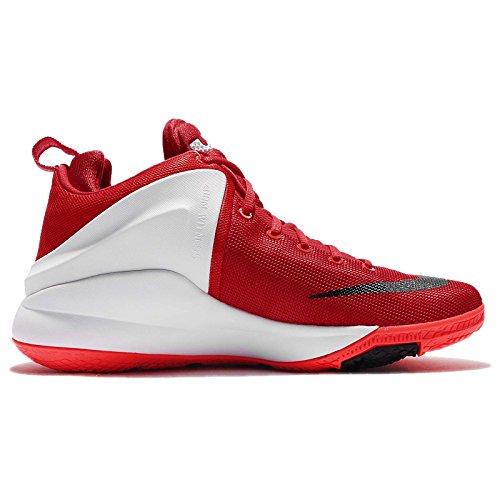 Nike Menns Zoom Vitne Ep, Universitet Rød / Svart-hvitt, 12 M Oss