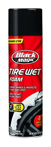 (Black Magic 800002220 Tire Wet Foam, 18 oz.)