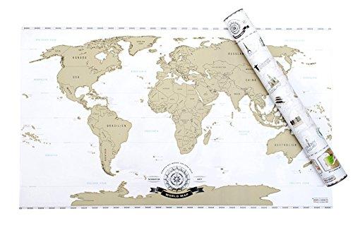 rubbel weltkarte xxl Amazon.de: Scrape Off World Map   Weltkarte zum Rubbeln   Rubbel  rubbel weltkarte xxl