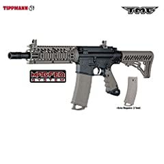 Introducing the latest magfed extremely authentic arstyled tactical Carbine marker! Go magfed or traditional loader and get the best of both worlds in one awesome package. The TMA can be fully accessorized giving the player more unique option...