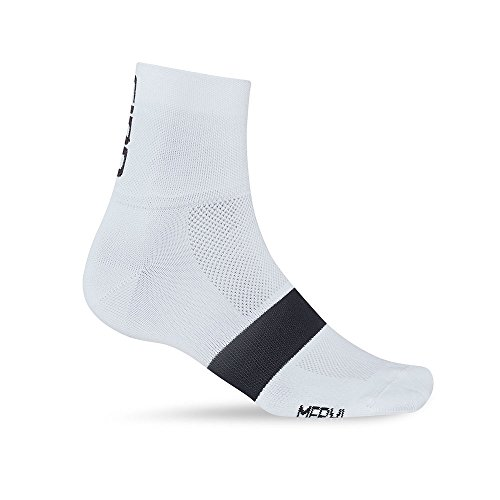 Mens Classic Racer (Giro Classic Racer Socks White/Black Large)