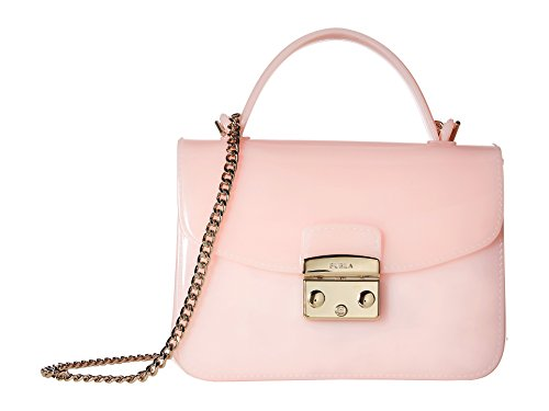 Furla Women's Candy Meringa Mini Crossbody Bag, Rosa Chiaro, Pink, One Size