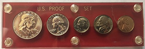 1955 P US MINT Proof set Silver Proof (1955 Mint)