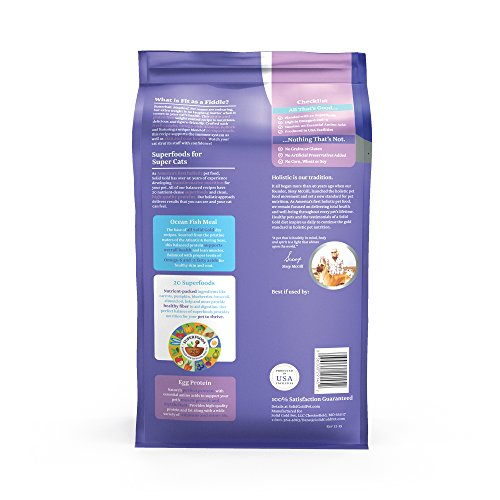 Solid Gold - Fit as a Fiddle with Fresh Caught Alaskan Pollock - Grain-Free Weight Control Adult Dry Cat Food - 12 LB