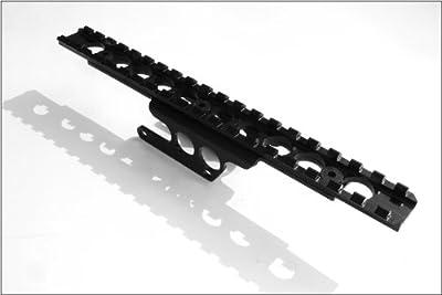 Brass Stacker MN9130SSM Scout Scope Mount for Mosin Nagant Rifles, Black by Brass Stacker