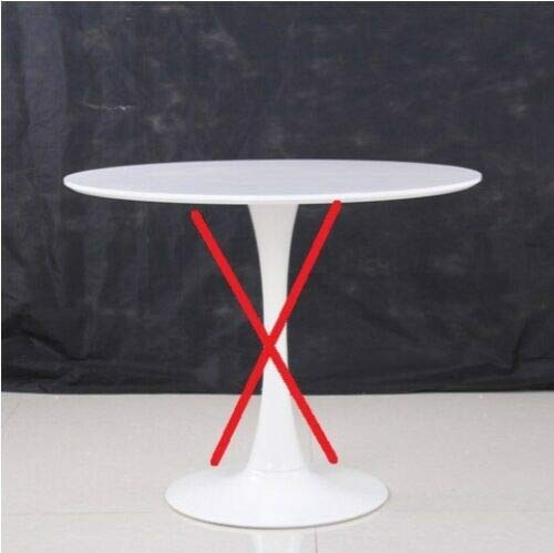 ElleDesign Saarinen Tulip - Mesa Redonda con Base y Tablero (90 ...