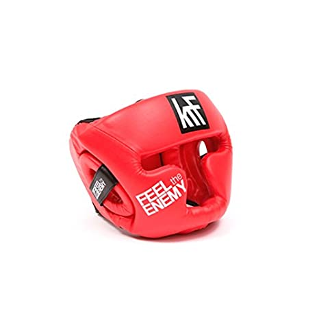 KRF Feel The Enemy Suraflex Casco Protector, Unisex Adulto