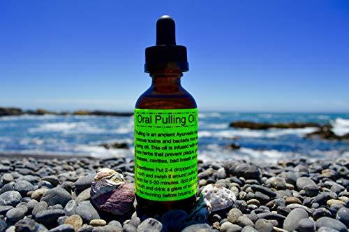 Oral Pulling Oil-Raw & Organic/Ayurvedic/ Detoxing/Whitening/ Oral Health Tonic