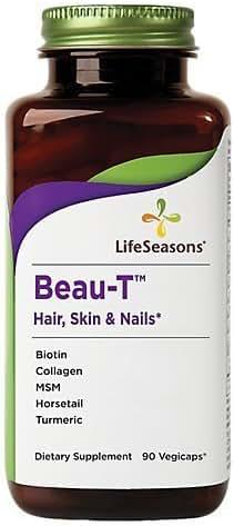 Life Seasons - Beau-T Hair Skin And Nails, 90 veggie caps by Life Seasons
