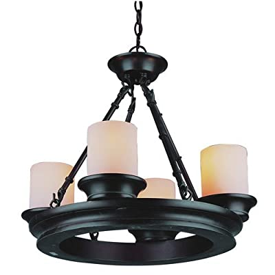 Trans Globe Lighting 3364 Four Light Mini Chandelier,