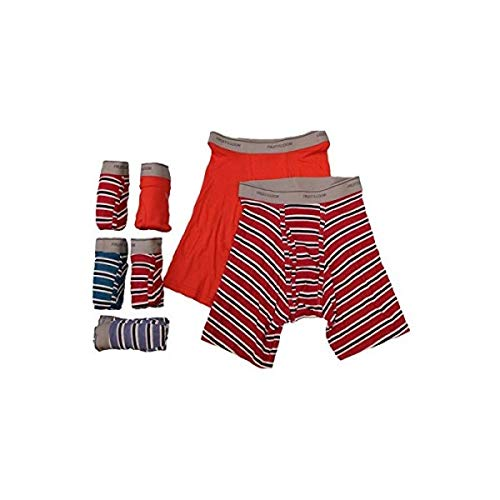 - Fruit of the Loom Men's Tag-Free Boxer Brief (Pack of 7) (Assorted: Multi-Panel Construction, XXX-Large)