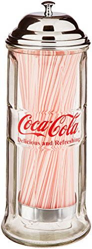 Контейнер для зубочисток Coca-Cola Glass Straw