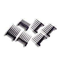 Oster Comb Attachment Blade Guard 6-Piece Set for Adjusta Groom.