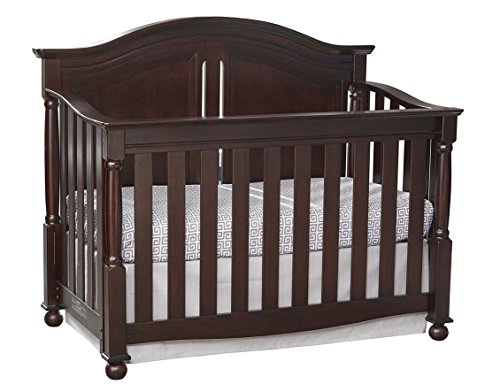 Westwood Design Monterey Bedford Baby 4 in 1 Convertible Crib,Chocolate Mist