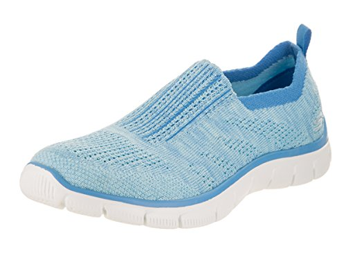 Skechers Dame Imperium-inde Ser Sneakers Lyseblå XBSAzZY1Vq