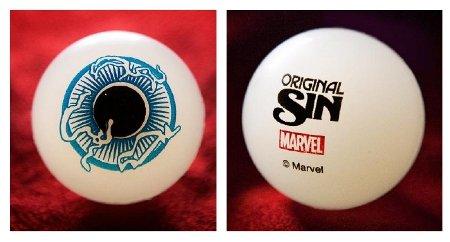 Original Sin Watcher Eyeball - Bouncing Glow in the Dark Ball (Bouncing Ball Original)