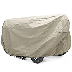 Lawn Mower Tractor Cover with Elastic Hems to Fit