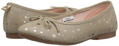 Oshkosh B'Gosh  Girls' Gwen Ballet Flat, Gold, 8 M US Toddler - Image 6