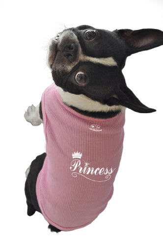 (Ruff Ruff and Meow Doggie Tank Top, Princess, Pink, Extra-Large)