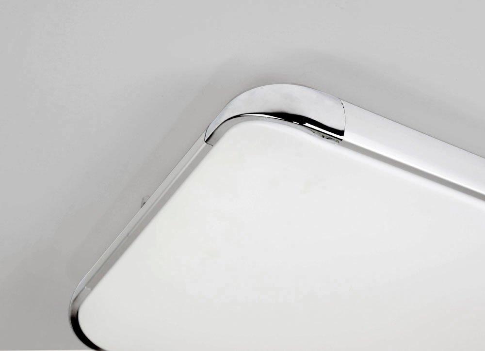 NatsenR Moderne LED Deckenlampe Wohnzimmer Lampe I505Y 50W Voll Dimmbar Mit Fernbedienung 650mm650mm Amazonde Beleuchtung