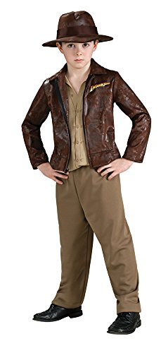 Deluxe Indiana Jones Costume - Large - Deluxe Kids Indiana Jones Costumes