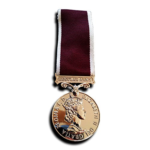 Medal for Long Service and Good Conduct Regular Army , Queen Elizabeth II (Costumes Commission Uk)