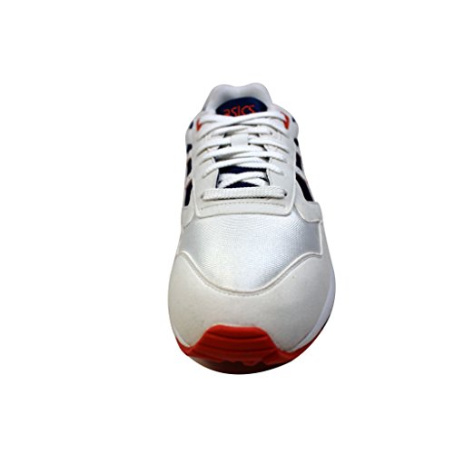 Asics - Mens-gel Saga Sportstyle Schoenen Wit / Koningsblauw