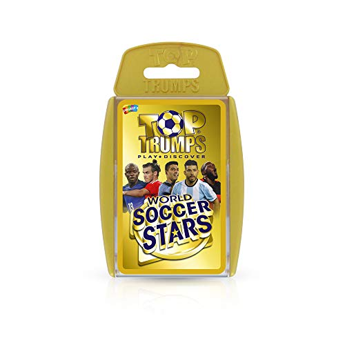 Top Trumps World Soccer Stars Card Game (All In The Family Lionel The Live In)