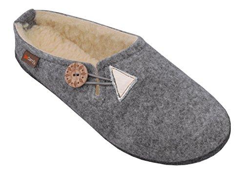 boîte laine naturelle en chaudes feutre laine Pantoufles 40 femmes caoutchouc les feutre en pour féminin 42 chaussons semelle 36 feutre Semelle en à Semelles cadeau en BeComfy qRxXIwpAq