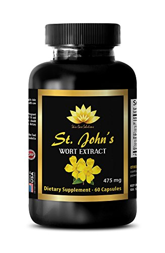 Mood supplement for men - ST. JOHN'S WORT EXTRACT - St. john's wort capsules - 1 Bottle 60 Capsules