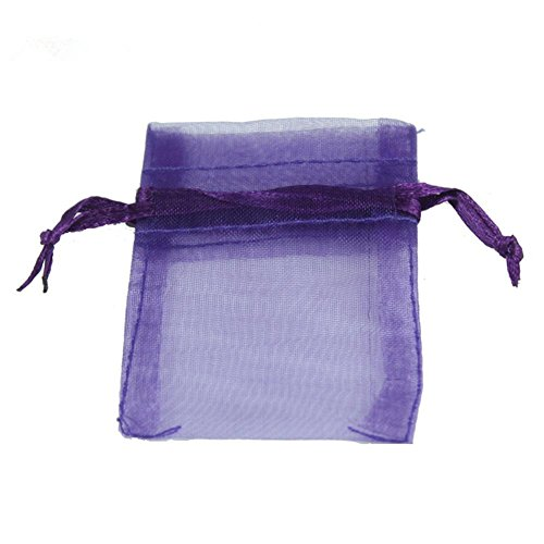 Hoxekle 50pcs Organza Gift Bag 7×9cm Wedding Favors and Gif