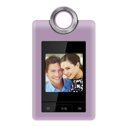 Coby 1.5 Digital Photo Keychain (Coby 1.5-Inch Digital LCD Photo Cliphanger DP152PNK (Pink))