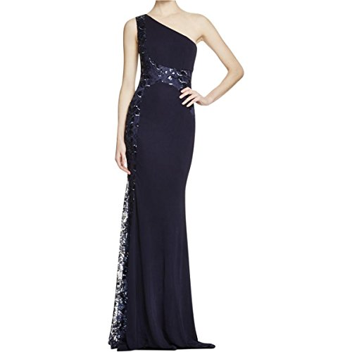 David-Meister-Womens-Sequined-Mesh-Inset-Evening-Dress
