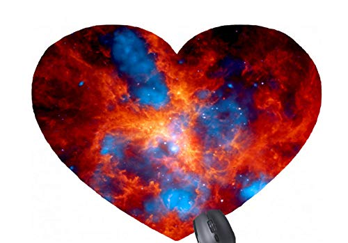(Tarantula Nebula Chandra X-Ray Heart-Shaped Mouse pad)