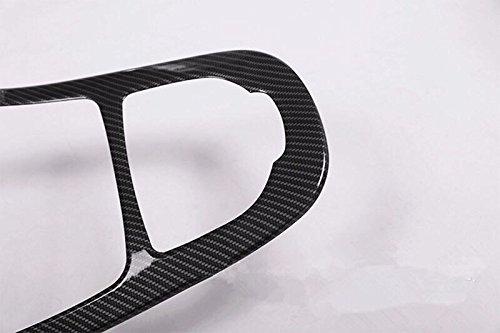 Emblem Trading Mittelkonsole Armaturenbrett Schalttafel Blende Verkleidung Rahmen Carbon Optik Autozubeh/ör Innenausstattung W213