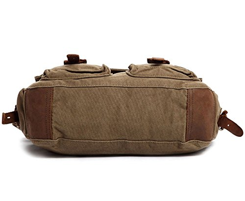 8ed5150164 Berchirly Vintage Military Men Canvas Messenger Bag for 14.7Inch Laptop   Amazon.ca  Luggage   Bags