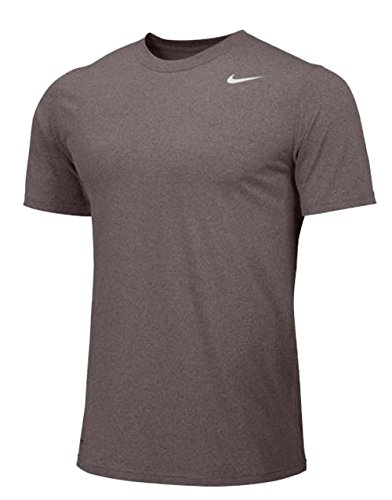 Nike Short Sleeve Legend Mens - Large - Grey (Nike Waffle Shirt)