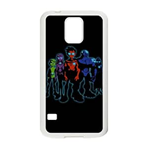 Teen Titans Wall By Turnpaper Samsung Galaxy S5 Cell Phone Case White Phone Accessories JVG19227