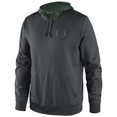 Oregon Ducks Basketball Performance Hooded Sweatshirt - Men - L