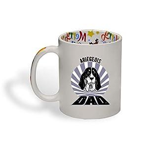 Ceramic Christmas Coffee Mug Dad Ariegeois Dog Funny Tea Cup 16