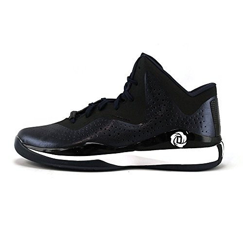 scarlet Adidas Basketball 10 black D 773 Mens Rose white Black Navy Shoe Iii XwxzfwrR
